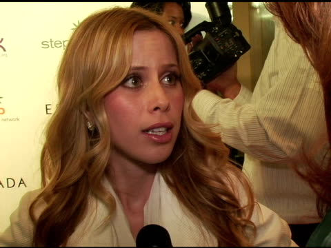 tara lipinski at the step up women's network inspiration awards sponsored by escada at the beverly hilton in beverly hills california on april 27 2006 - escada stock videos & royalty-free footage