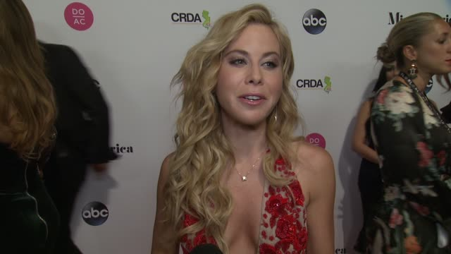 INTERVIEW Tara Lipinski talks about what she's most looking forward to at The 2018 Miss America Competition on September 10 2017 in Atlantic City New...