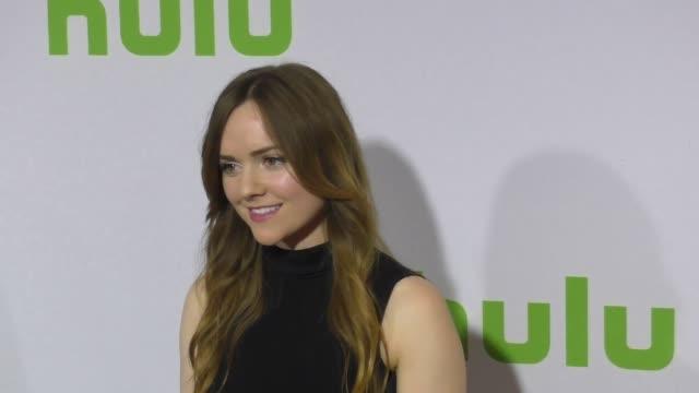 Tara Lynne Barr at the 2017 Winter Television Critics Association Tour Hulu Press Day at Langham Hotel on January 07 2017 in Pasadena California