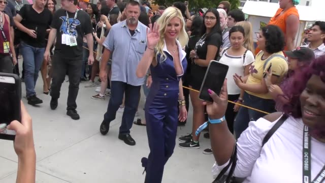 tara reid and ian ziering attend the imdboat party on the imdb yacht at san diego comic-con international 2018 at celebrity sightings at comic-con on... - tara reid stock-videos und b-roll-filmmaterial