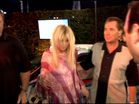 tara reid at the pioneer electronics launch of their automotive navigation system at montmartre lounge in hollywood, california on april 21, 2005. - tara reid stock-videos und b-roll-filmmaterial