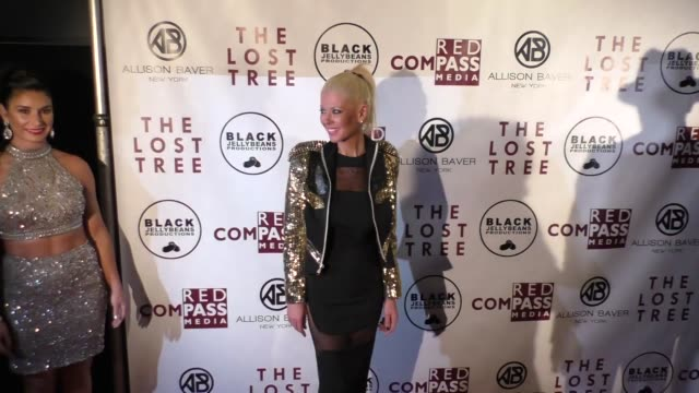 tara reid at the 'the lost tree' screening at tcl chinese 6 theatres on october 09 2017 in hollywood california - the lost tree stock videos and b-roll footage