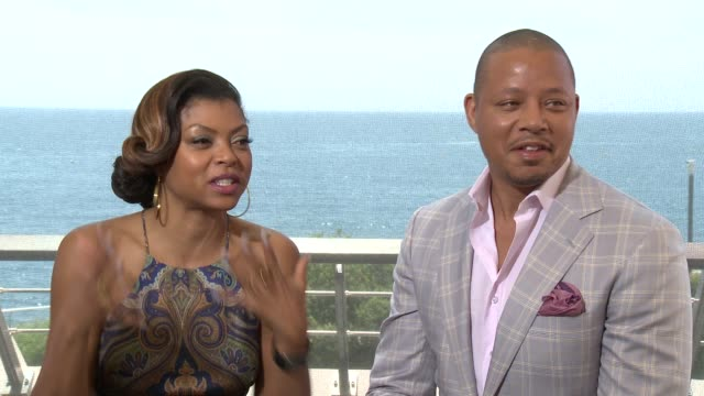 taraji p. henson and terrence howard at 55th monte carlo tv festival : day 1 on june 15, 2015 in monte-carlo, monaco. - terrence howard stock videos & royalty-free footage