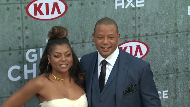 "taraji p. henson and terrence howard at spike tv's ""guys choice 2015"" at sony pictures studios on june 06, 2015 in culver city, california. - terrence howard stock videos & royalty-free footage"