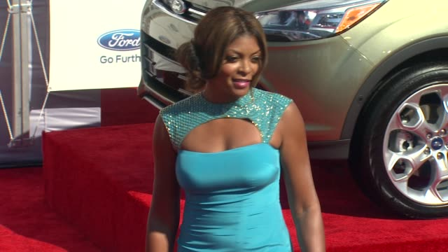 taraji p henson at 2012 bet awards on 7/1/12 in los angeles ca - taraji p. henson stock videos and b-roll footage