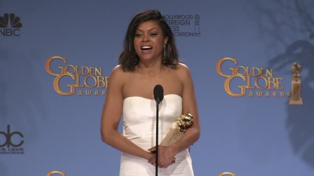 SPEECH Taraji P Henson at 73rd Annual Golden Globe Awards Arrivals at The Beverly Hilton Hotel on January 10 2016 in Beverly Hills California