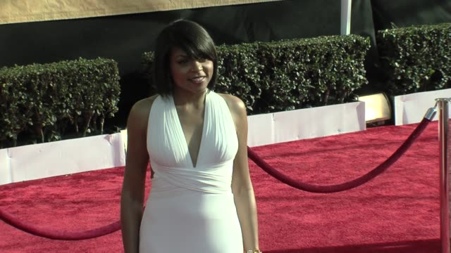 taraji p henson at the 15th annual screen actors guild awards part 4 at los angeles ca - taraji p. henson stock videos and b-roll footage