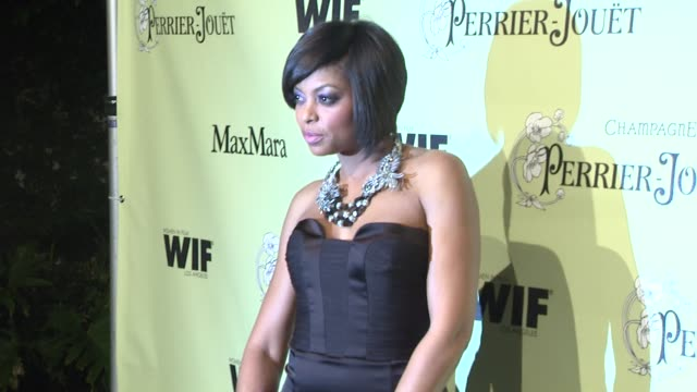 taraji p henson at the 2nd annual women in film preoscar cocktail party at los angeles ca - taraji p. henson stock videos and b-roll footage