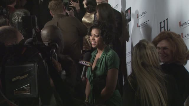 taraji p henson at the behind the camera awards at los angeles ca - taraji p. henson stock videos and b-roll footage