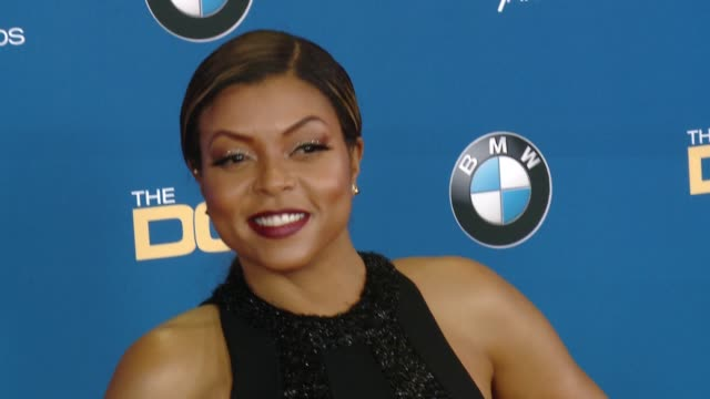 taraji p henson at the hyatt regency century plaza on february 07 2015 in century city california - taraji p. henson stock videos and b-roll footage