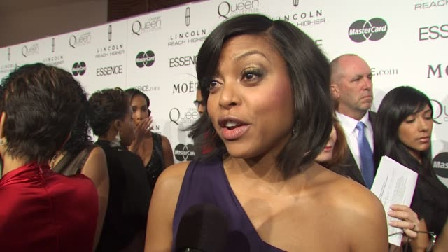 Taraji P Henson on looking forward to this event all year why its important for Essence to host this luncheon and her Oscar advice for today's...
