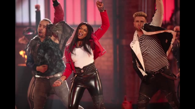 Taraji P Henson performs onstage during Lip Sync Battle Live A Michael Jackson Celebration at Dolby Theatre on January 18 2018 in Hollywood California