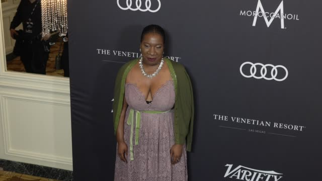 tarana burke at the variety's power of women: los angeles at the beverly wilshire four seasons hotel on october 12, 2018 in beverly hills, california. - フォーシーズンズホテル点の映像素材/bロール