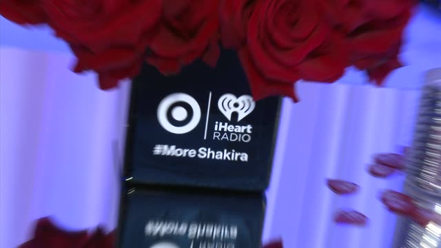 target presents the iheartradio album release party for shakira's exclusive deluxe edition in los angeles, ca on march 24, 2014. - exklusiv stock-videos und b-roll-filmmaterial