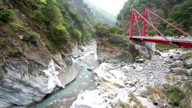 taroko gorge national park in hua lian - taiwan stock videos and b-roll footage
