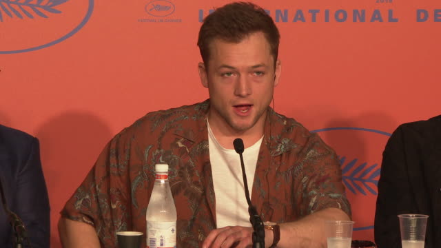 FRA: 'Rocketman' Press Conference - The 72nd Cannes Film Festival