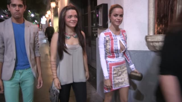 taryn manning arrives at just dance 4 launch in hollywood, 10/02/12 - taryn manning stock videos & royalty-free footage