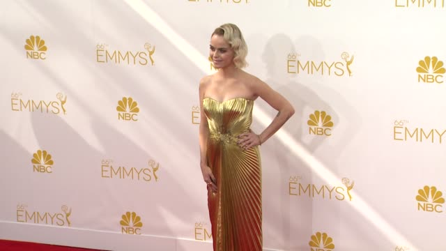 taryn manning at 66th primetime emmy awards - arrivals in los angeles, ca 8/25/14 - taryn manning stock videos & royalty-free footage