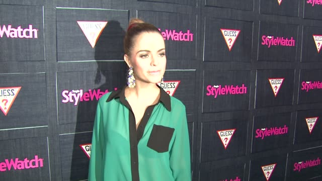 taryn manning at people stylewatch hosts hollywood denim party on 9/20/12 in los angeles, ca - taryn manning stock videos & royalty-free footage
