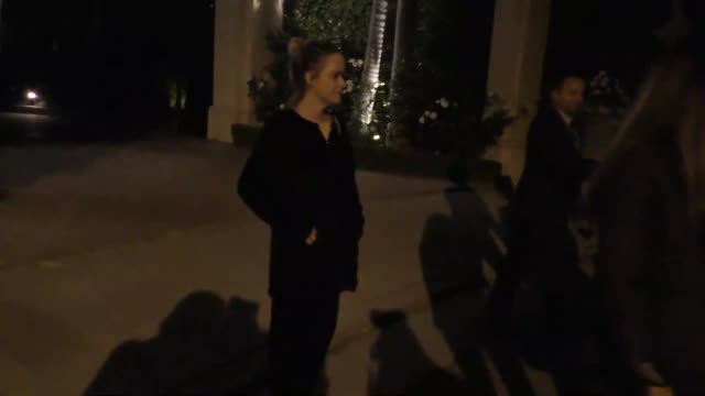 taryn manning at ron burkle's green acres estate in beverly hills at celebrity sightings in los angeles on may 06, 2016 in los angeles, california. - taryn manning stock videos & royalty-free footage