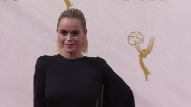 taryn manning at the 67th annual primetime emmy awards at microsoft theater on september 20, 2015 in los angeles, california. - taryn manning stock videos & royalty-free footage