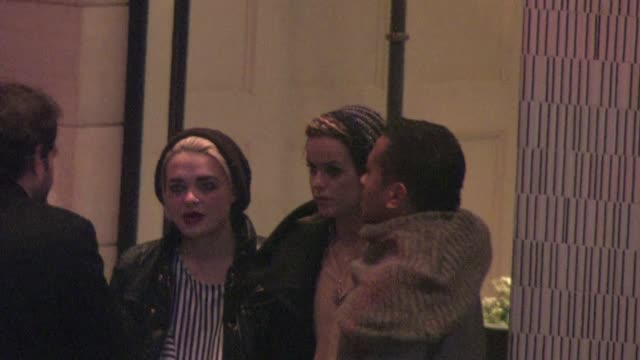 taryn manning at the london west in hollywood on 12/12/11 - taryn manning stock videos & royalty-free footage