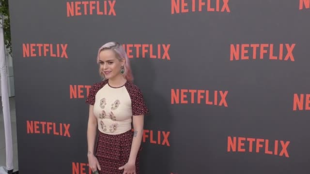 taryn manning at the netflix 'orange is the new black' for your consideration event at saban media center on may 05, 2017 in north hollywood,... - taryn manning stock videos & royalty-free footage