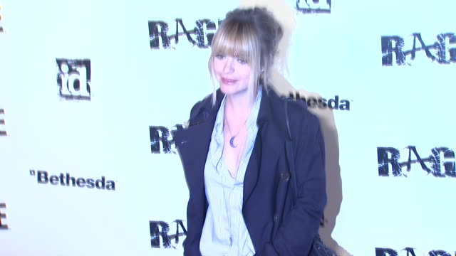 taryn manning at the 'rage' video game launch party at los angeles ca. - taryn manning stock videos & royalty-free footage