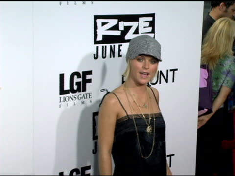 taryn manning at the 'rize' los angeles premiere at the egyptian theatre in hollywood, california on june 21, 2005. - taryn manning stock videos & royalty-free footage