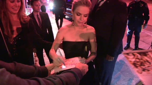 taryn manning greets fans & takes selfies before exiting audi celebrates emmys week 2014 in los angeles in celebrity sightings in los angeles, - taryn manning stock videos & royalty-free footage