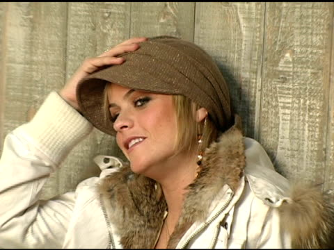 taryn manning of 'hustle and flow' at the 2005 hp portrait studio presented by wireimage at hp portrait studio in park city, utah on january 22, 2005. - taryn manning stock videos & royalty-free footage