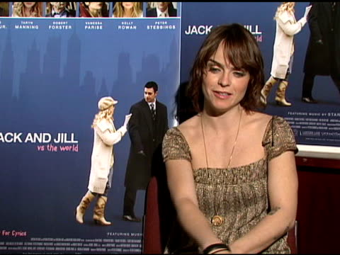 taryn manning on relating to her character in the film, and on researching cystic fibrosis for the film at the interview with taryn manning and... - cystic fibrosis stock videos & royalty-free footage
