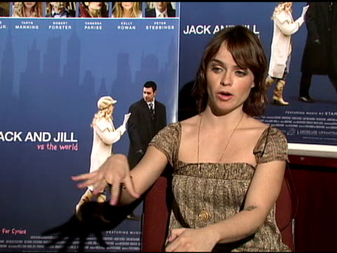 taryn manning on working in canada for the film, on what she does with her time off, and on working with freddie prinze jr at the interview with... - taryn manning stock videos & royalty-free footage