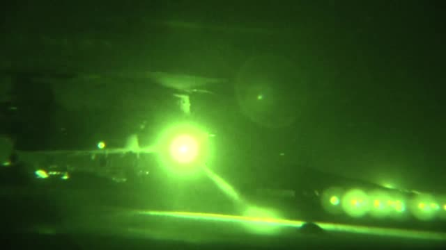 task force corsair 82nd combat aviation brigade ch47f chinooks perform night sling load operations on forward operating base shank aug 14 2012 ch47s... - night vision stock videos & royalty-free footage