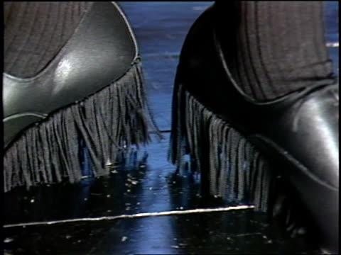 tassel shoes being modeled in london - tassel stock videos & royalty-free footage