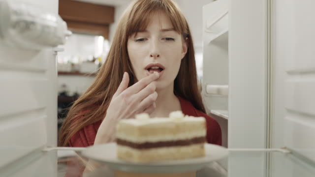 tasting a cake! - cake stock videos & royalty-free footage