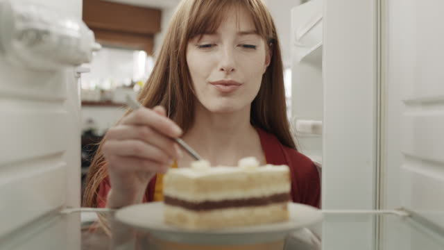 tasting a cake! - tasting stock videos & royalty-free footage