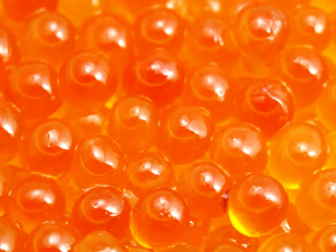 pal: tasty delicious red caviar (video) - red delicious stock videos & royalty-free footage