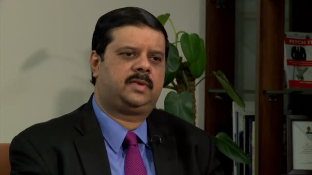 tata steel group executive director koushik chatterjee saying the risks to the turnaround plan for the uk business are very significant - executive director stock videos & royalty-free footage