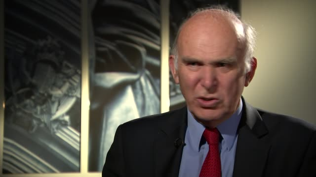 tata steel job losses vince cable mp into room to meet reporter vince cable mp interview sot sheffield gvs steelworker in protective clothing working... - foundry worker stock videos and b-roll footage