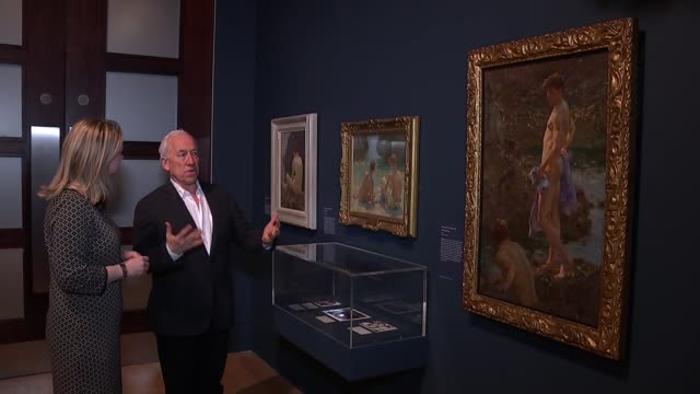 tate britain exhibition celebrates queer british art tate britain exhibition celebrates queer british art england london tate britain in painting in... - greater london stock videos and b-roll footage
