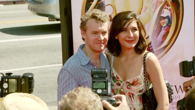 Tate Donovan and wife at the 'Nancy Drew' Premiere at Grauman's Chinese Theatre in Hollywood California on June 10 2007