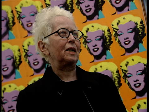 interior and exterior general views Holly Solomon interview SOT On who she is art gallery in New York / On the Tate Modern Serota is magnificent and...