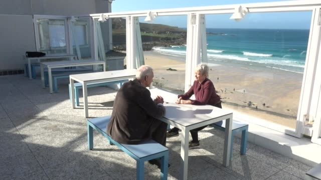 Tate St Ives reopens / Maria Balshaw interview ENGLAND Cornwall Tate St Ives EXT Maria Balshaw interview SOT