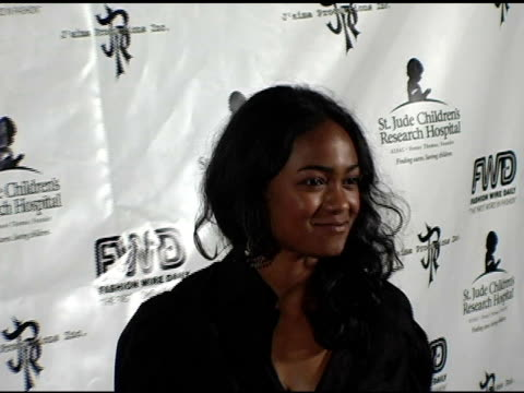tatiana ali at the 'a gamble for hope' hosted by jaime pressly benefiting st jude's children's research hospital at bliss lounge in los angeles... - tatyana ali stock videos & royalty-free footage