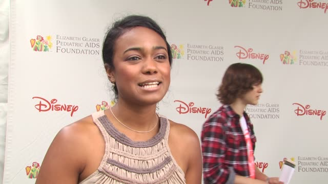 tatiana ali on importance of event at the 21st annual 'a time for heroes' celebrity picnic benefit at los angeles ca - a time for heroes stock videos & royalty-free footage