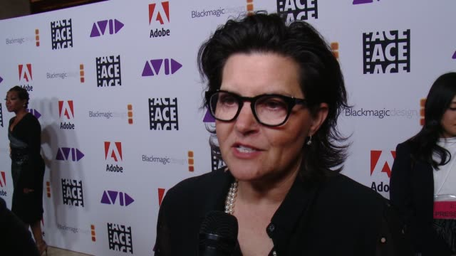 INTERVIEW Tatiana S Riegel on the event at 68th Annual ACE Eddie Awards in Los Angeles CA