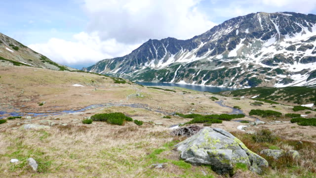 tatra. valley of five polish ponds - five objects stock videos and b-roll footage