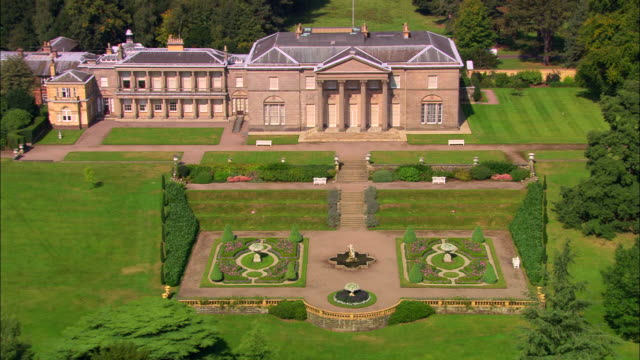 tatton park - stately home stock videos & royalty-free footage