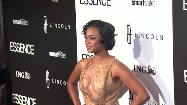 tatyana ali at 5th annual essence black women in hollywood luncheon on 2/23/2012 in beverly hills ca - tatyana ali stock videos & royalty-free footage